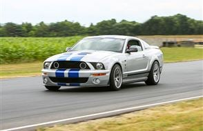 American Muscle Thrill with High Speed Passenger Ride Experience from Trackdays.co.uk