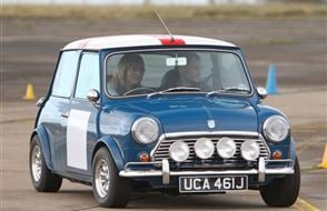 Classic Mini Thrill Experience from Trackdays.co.uk