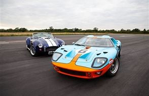 Double American Muscle Blast with High Speed Passenger Ride Experience from Trackdays.co.uk