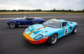Double American Muscle Thrill with High Speed Passenger Ride Experience from Trackdays.co.uk
