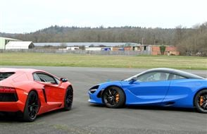 Double Diamond Supercar Thrill Experience from Trackdays.co.uk