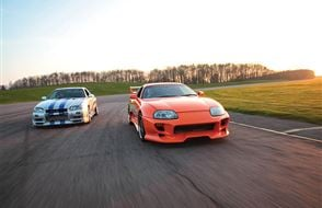 Double Fast and Furious Thrill with High Speed Passenger Ride Experience from Trackdays.co.uk