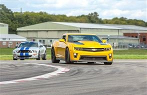 Double Supercar Blast for Two - Special Offer Experience from Trackdays.co.uk
