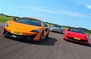 Double Supercar Driving Experience  Experience from Trackdays.co.uk