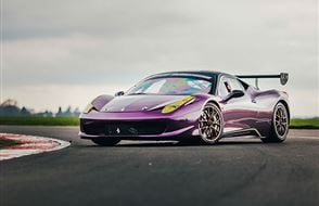 Ferrari 458 Challenge Race Car Thrill Experience from Trackdays.co.uk