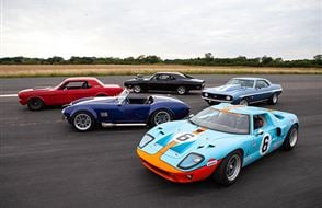 Five American Muscle Thrill with High Speed Passenger Ride Experience from Trackdays.co.uk
