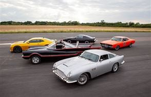 Five Movie Car Thrill with High Speed Passenger Ride Experience from Trackdays.co.uk