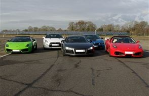 Five Supercar Thrill Experience from Trackdays.co.uk