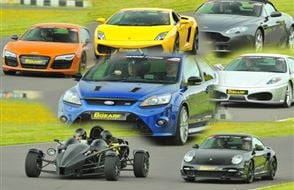 Five Supercar Thrill (Premium) Experience from Trackdays.co.uk