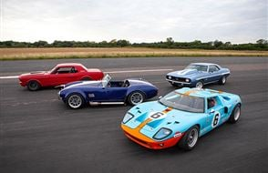 Four American Muscle Blast with High Speed Passenger Ride Experience from Trackdays.co.uk