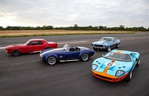Four American Muscle Thrill with High Speed Passenger Ride Experience from Trackdays.co.uk