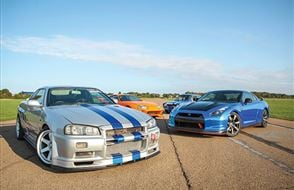 Four Fast and Furious Thrill with High Speed Passenger Ride Experience from Trackdays.co.uk