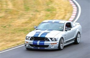 Junior Four Supercar Thrill with High Speed Passenger Ride Experience from Trackdays.co.uk