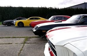 Four Movie Car Blast with Hot Lap Experience from Trackdays.co.uk