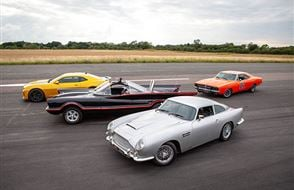 Four Movie Car Thrill with High Speed Passenger Ride Experience from Trackdays.co.uk