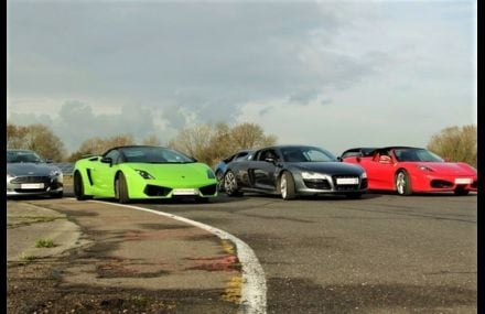 Four Supercar Blast Experience from Trackdays.co.uk