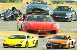 Four Supercar Thrill (Premium) Experience from Trackdays.co.uk