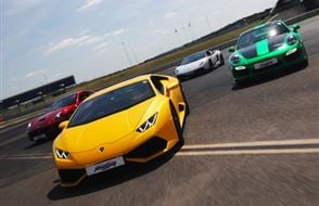 Four Supercar Thrill - Anytime Experience from Trackdays.co.uk