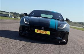 Jaguar F-TYPE P300 One to One Driving Experience Experience from Trackdays.co.uk