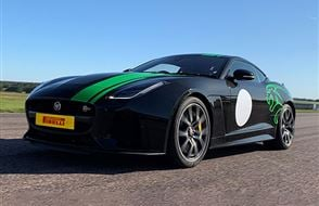 Jaguar F-TYPE SVR Driving Experience Experience from Trackdays.co.uk