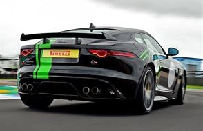 Jaguar F-TYPE SVR Plus Driving Experience Experience from Trackdays.co.uk