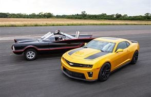 Junior Double Movie Car Blast with High Speed Passenger Ride Experience from Trackdays.co.uk
