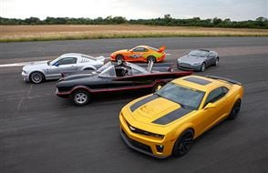 Junior Five Movie Car Blast with High Speed Passenger Ride Experience from Trackdays.co.uk