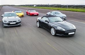 Junior Five Supercar Passenger Ride (2 miles) Experience from Trackdays.co.uk