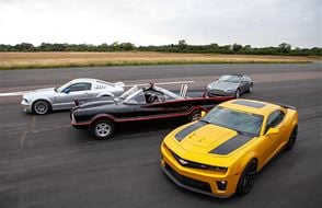 Junior Four Movie Car Blast with High Speed Passenger Ride Experience from Trackdays.co.uk