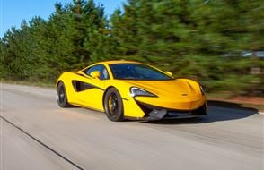 Junior McLaren 570S Blast with High Speed Passenger Ride Experience from Trackdays.co.uk