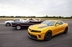 Junior Triple Movie Car Blast with High Speed Passenger Ride Experience from Trackdays.co.uk