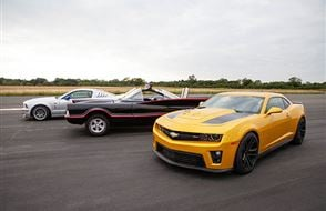 Junior Triple Movie Car Thrill with High Speed Passenger Ride Experience from Trackdays.co.uk