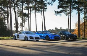 Junior Triple Supercar Blast with High Speed Passenger Ride Experience from Trackdays.co.uk