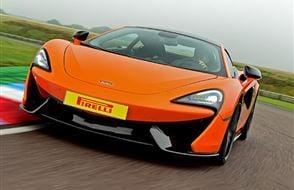 McLaren 570S Plus Driving Experience Experience from Trackdays.co.uk