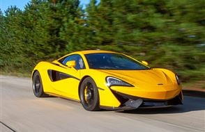 McLaren 570S Thrill with High Speed Passenger Ride Experience from Trackdays.co.uk