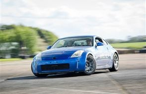 Nissan 350Z Silver Drifting Experience Experience from Trackdays.co.uk