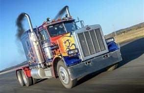 Optimus Prime Truck Driving Thrill Experience from Trackdays.co.uk