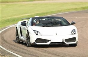 Supercar Double Platinum Experience from Trackdays.co.uk