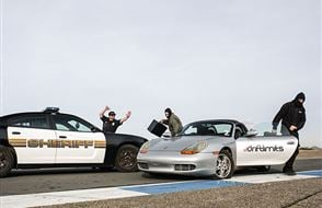 Porsche Boxster 'Police Pursuit' Driving Experience Experience from Trackdays.co.uk