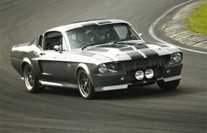 Shelby 'Eleanor' Mustang GT500 Blast Experience from Trackdays.co.uk