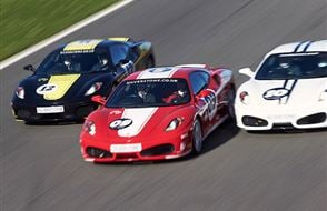 Silverstone Ferrari Thrill Experience from Trackdays.co.uk
