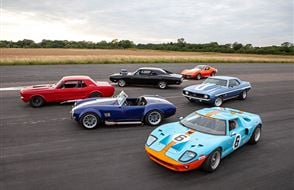 Six American Muscle Blast with High Speed Passenger Ride Experience from Trackdays.co.uk