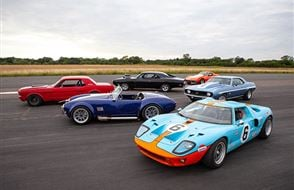 Six American Muscle Thrill with High Speed Passenger Ride Experience from Trackdays.co.uk