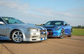 Six Fast and Furious Thrill with High Speed Passenger Ride Experience from Trackdays.co.uk