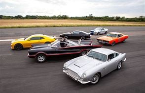 Six Movie Car Blast with High Speed Passenger Ride Experience from Trackdays.co.uk