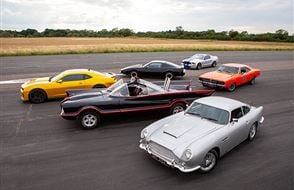 Six Movie Car Thrill with High Speed Passenger Ride Experience from Trackdays.co.uk