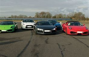 Six Supercar Thrill Experience from Trackdays.co.uk