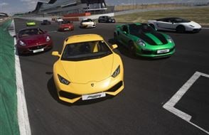 Six Supercar Thrill - Anytime Experience from Trackdays.co.uk