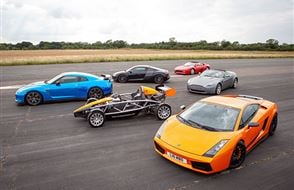 Six Supercar Thrill with High Speed Passenger Ride Experience from Trackdays.co.uk