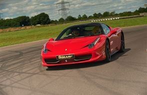 Supercar Treble Platinum Thrill Experience from Trackdays.co.uk
